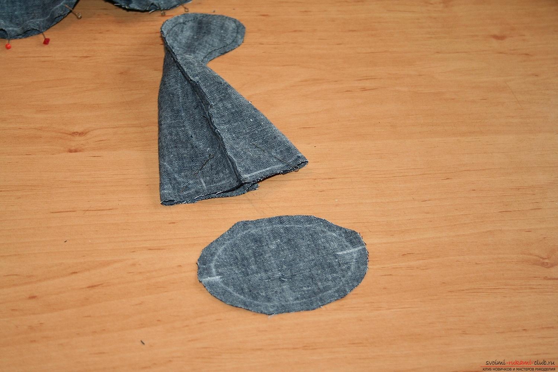 Фото у уроку по пошиву скандинавских гномиков своими руками. Фото №24
