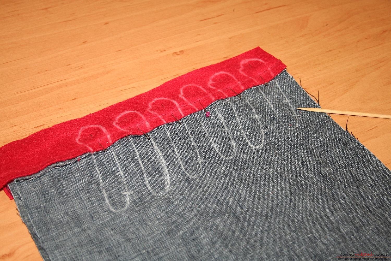Фото у уроку по пошиву скандинавских гномиков своими руками. Фото №16
