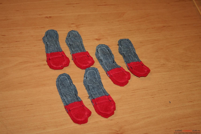 Фото у уроку по пошиву скандинавских гномиков своими руками. Фото №18