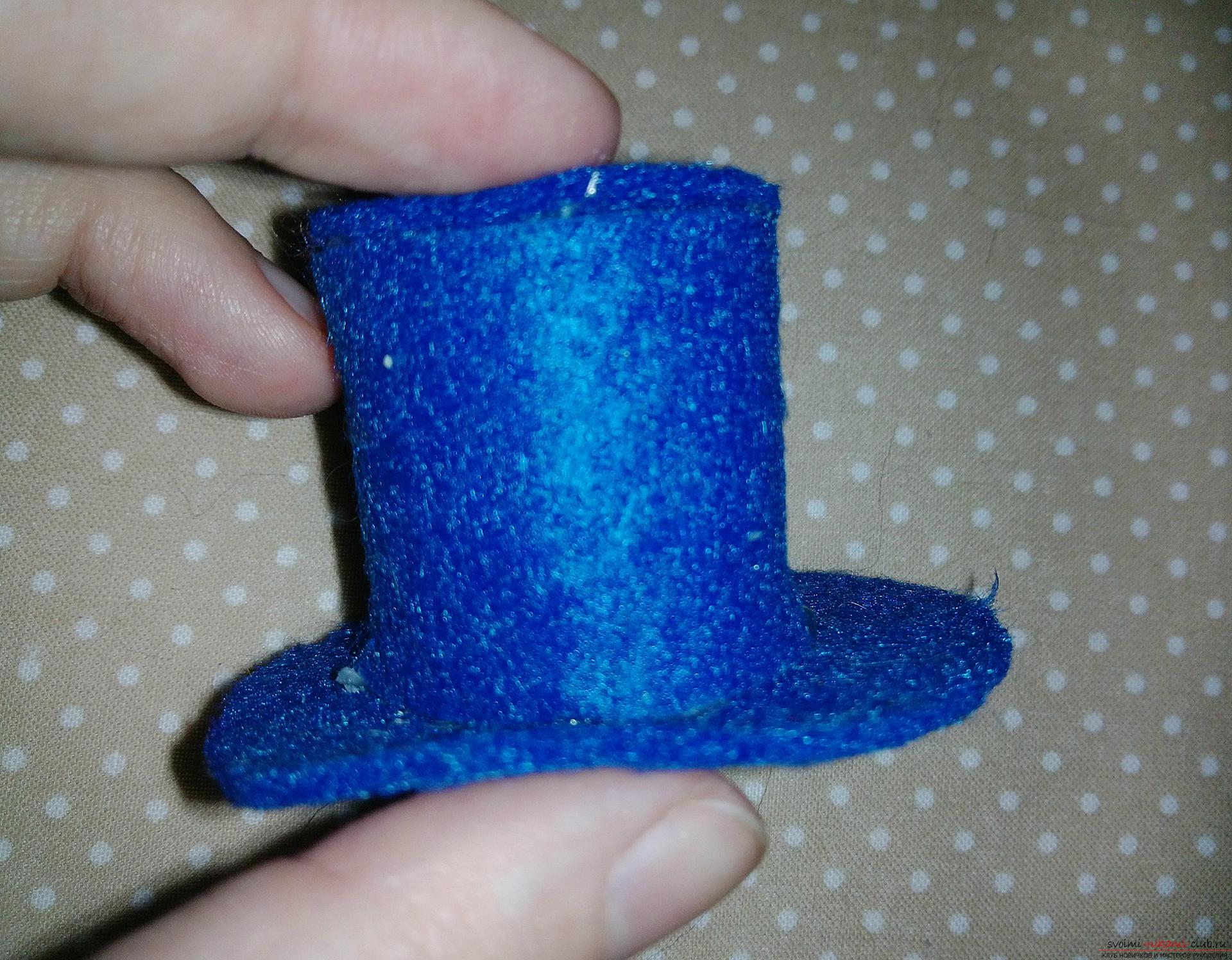 Сделать шляпу для снеговика своими руками