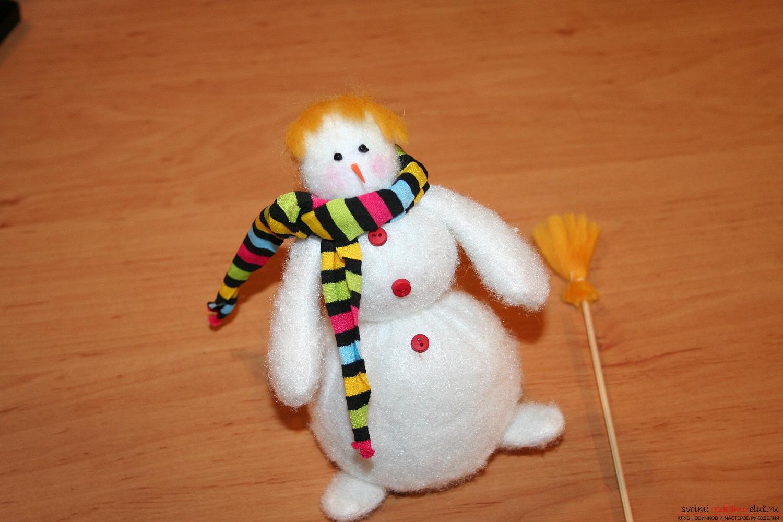 Снеговики своими руками пошагово