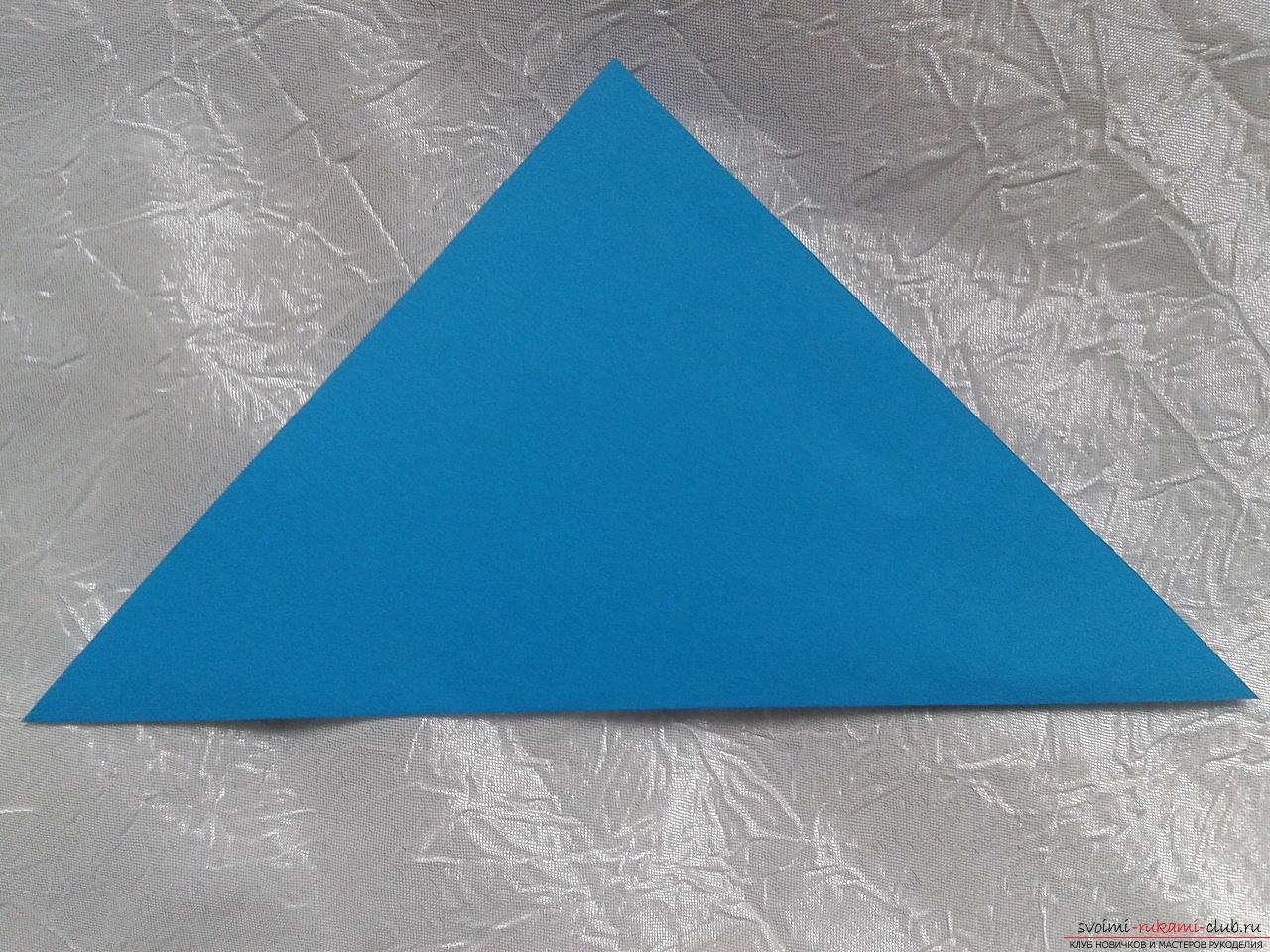 Фото треугольников из бумаги