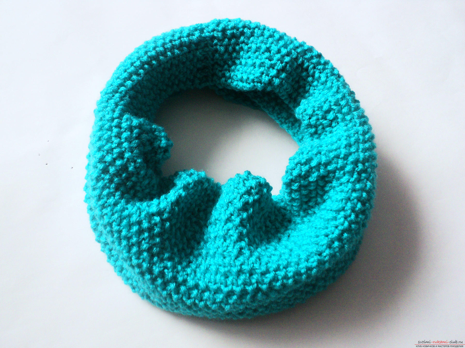 Ажурный узор шарфа спицами схема