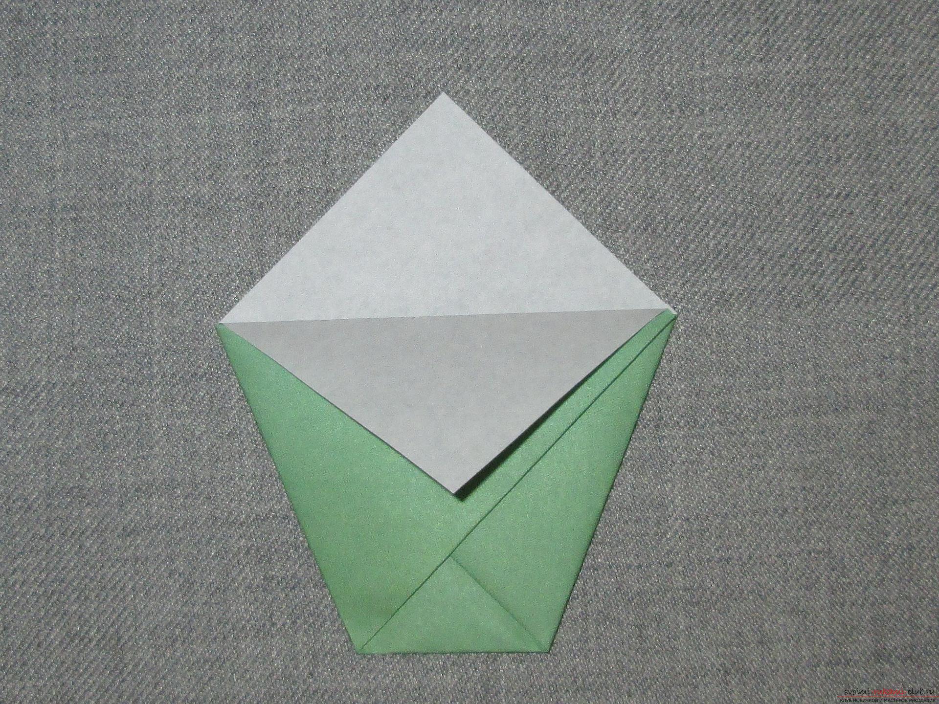 Оригами своими руками стаканчики 20