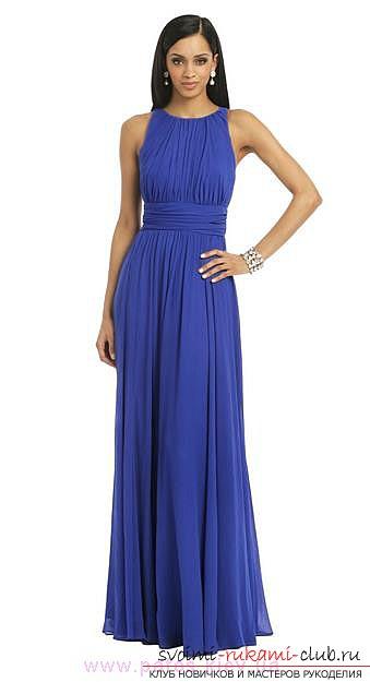 0c776d90795cef9 Эксклюзивное решение для длинного платья в пол. Вечернее и красивое платье:  как пошить?
