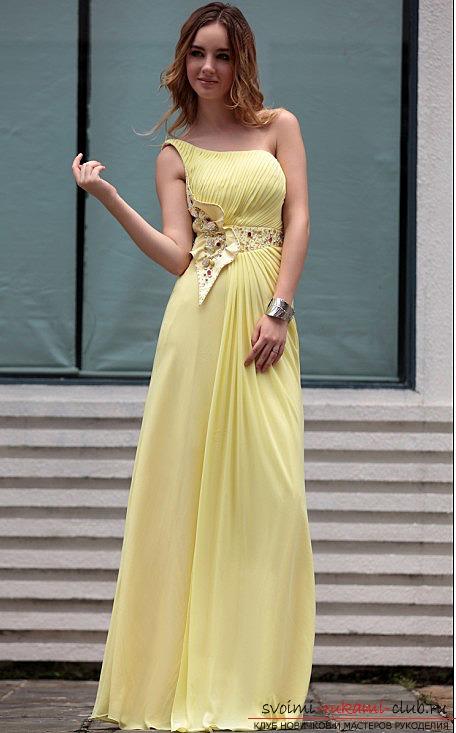 Легкое платье своими руками фото