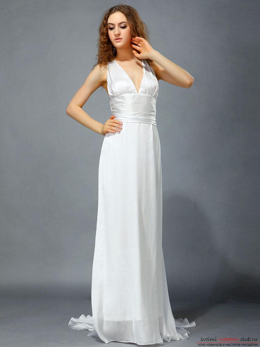 Сшить платье в пол своими руками для