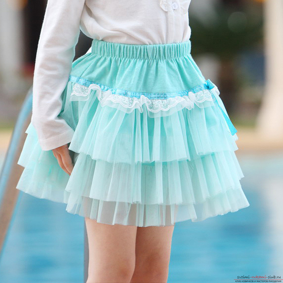 Платье из юбки своими руками фото