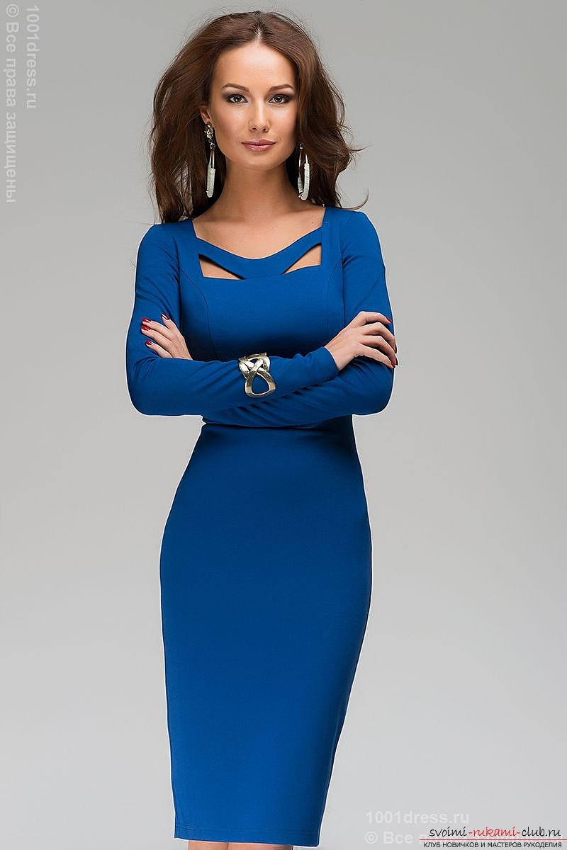 Платье-футляр как особенный выбор: История модели, красивые, шьем самостоятельно. Фото №1