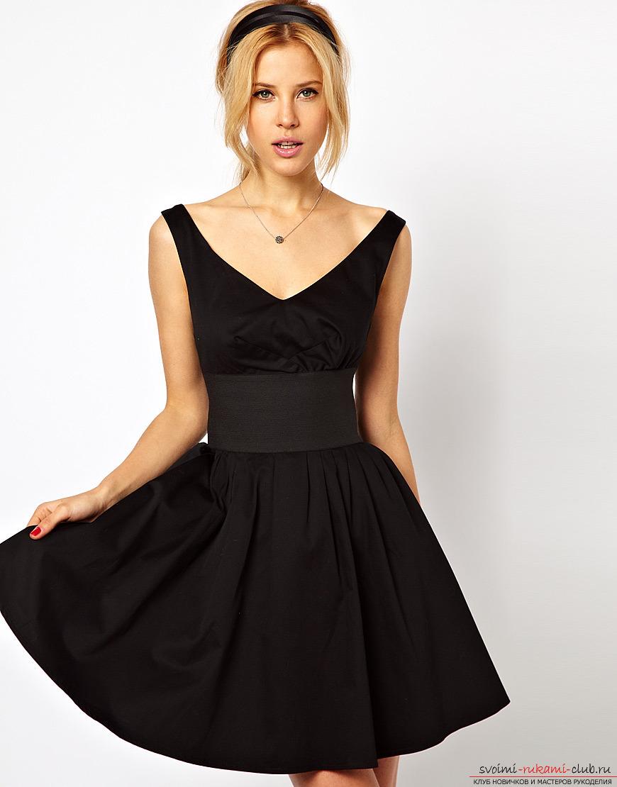 Как сделать красивое платье из шифона своими руками с подкладкой: фотографии моделей, выкройки и техники для работы.. Фото №7