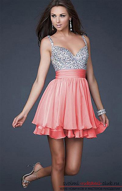 Красивое платье из бумаги своими руками 4