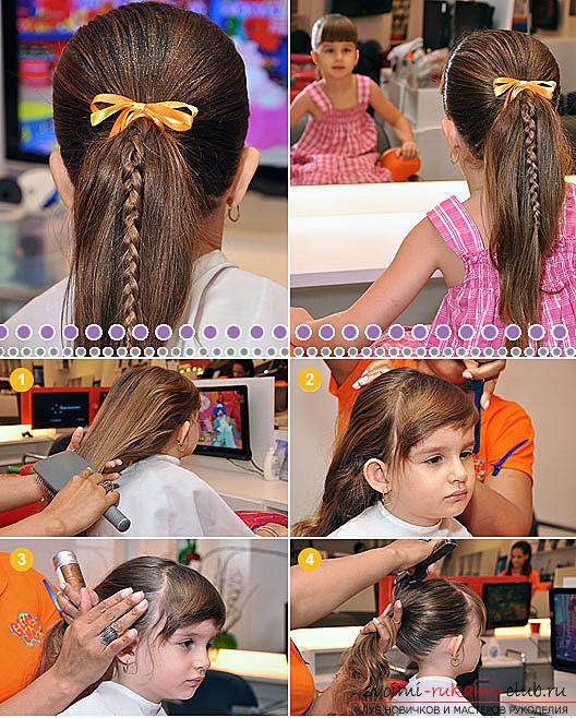 Как сделать детские прически для девочек своими руками: сделать прическу девочке просто!
