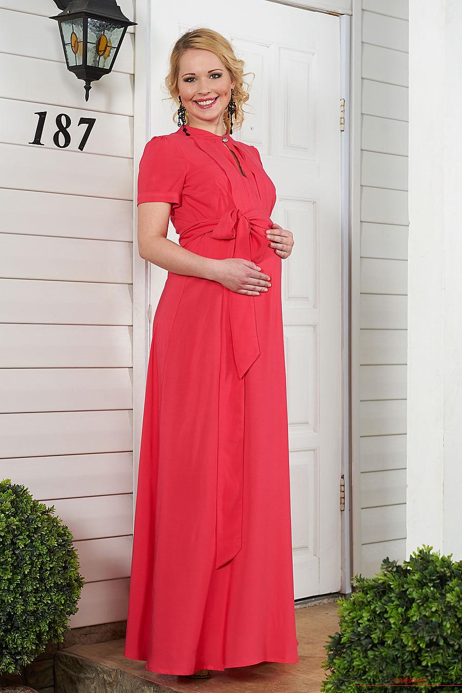 Шьём платье своими руками для беременных