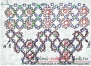 Различные схемы плетения колье из бисера. Украшения на шею, созданные при помощи разных способов бисероплетения.. Фото №8