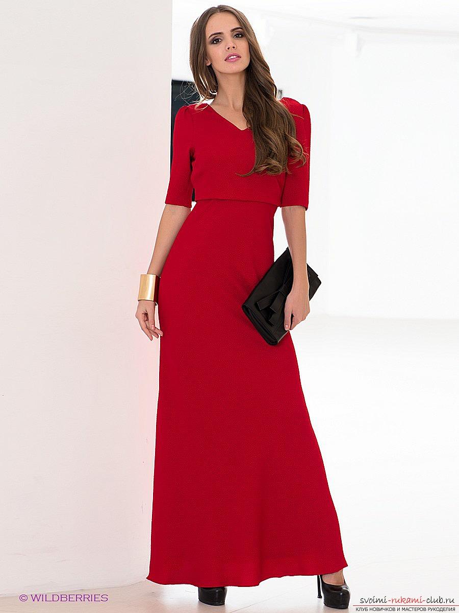 Сшить новогоднее платье своими руками