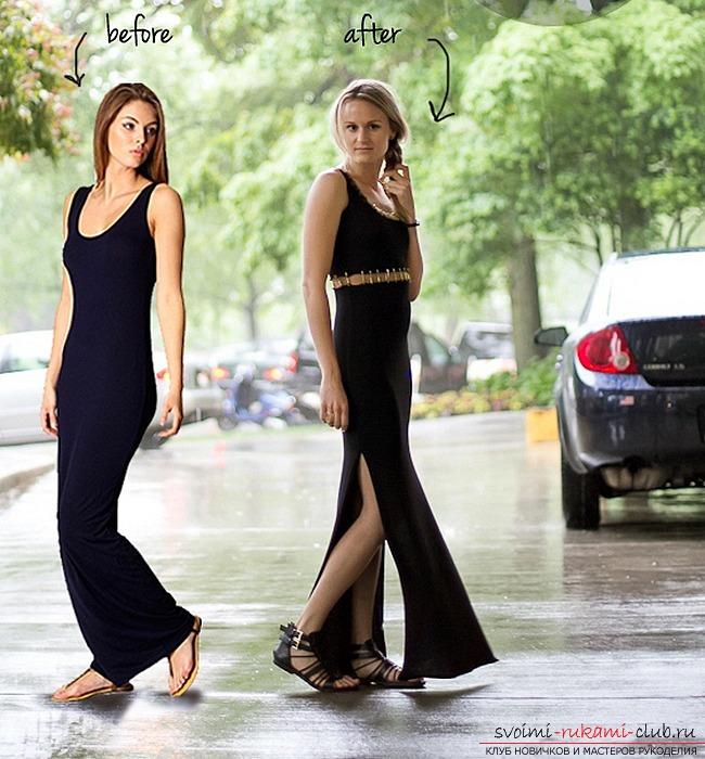 Сшить нарядное платье для торжественного вечера или свидания, способы шитья и инструкции.. Фото №7