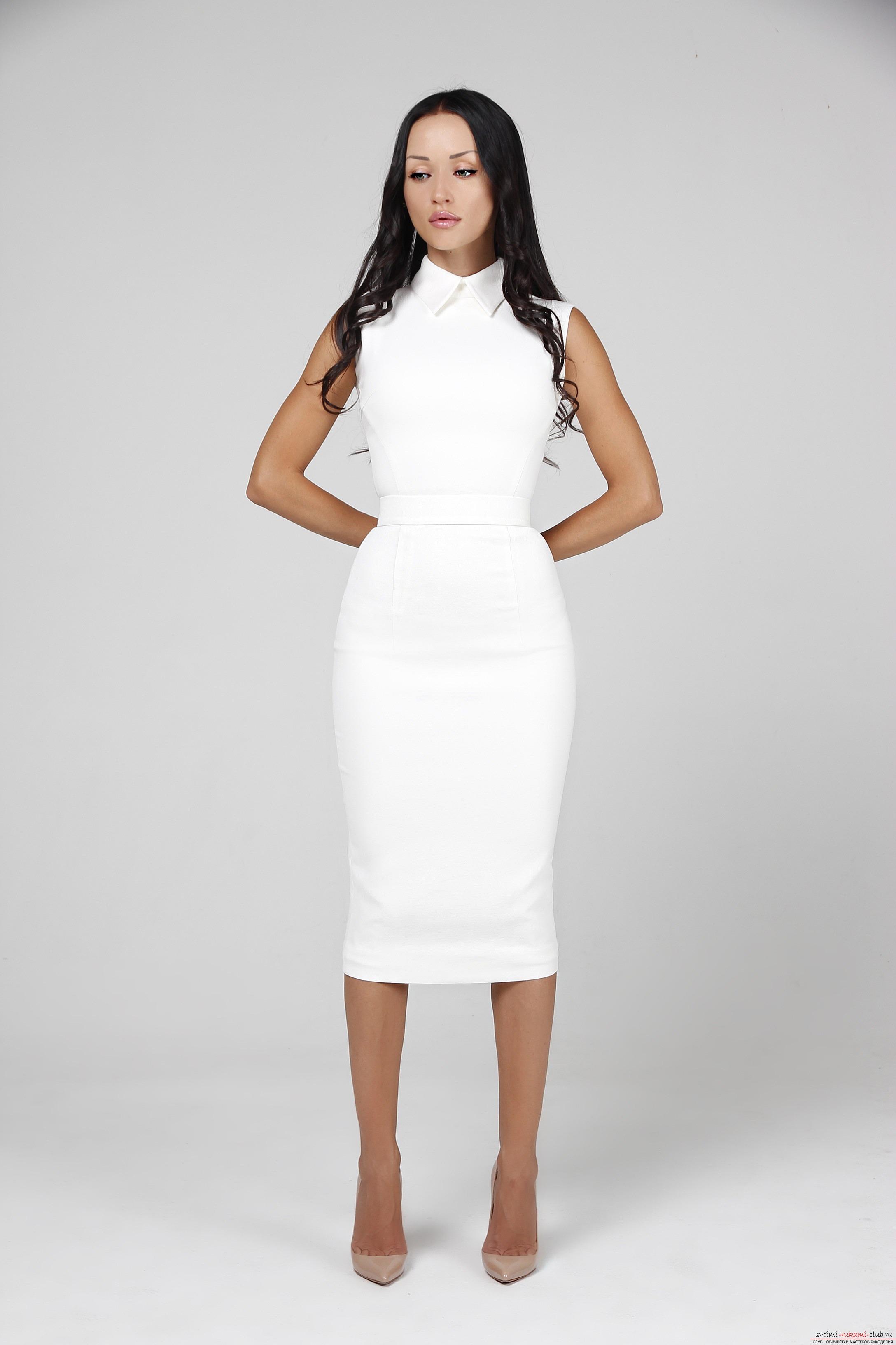 Платье-футляр как особенный выбор: История модели, красивые, шьем самостоятельно. Фото №5