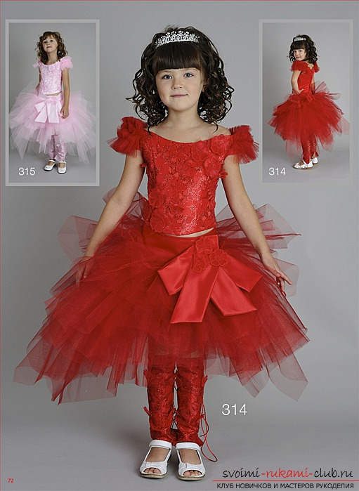 Делаем платье из фатина для девочки на праздник: Волшебное и цветное. Фото №2