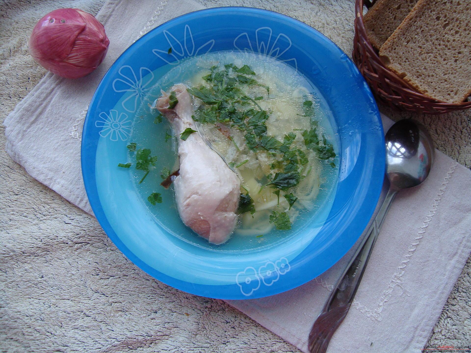 Суп лапша в мультиварке фото пошагово