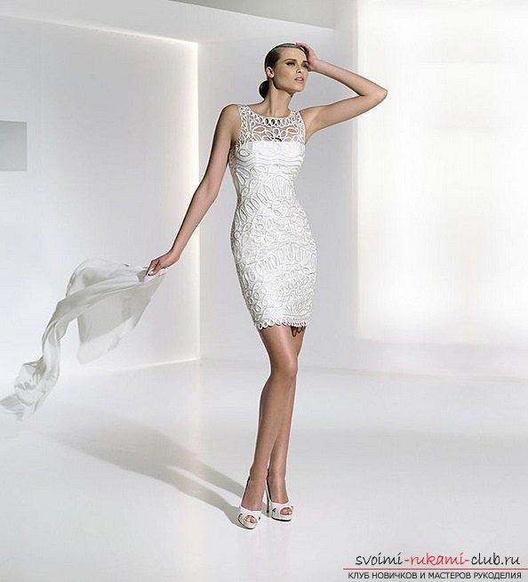 Сшить стильное платье из кожи