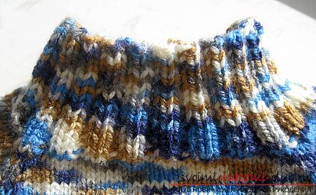 свитер-реглан для ребенка. Фото №6