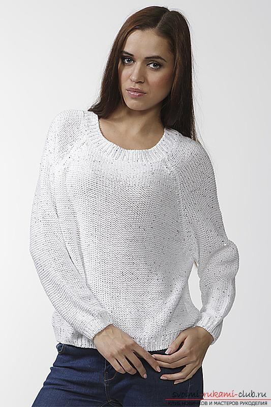 Вязать свитер женский своими руками