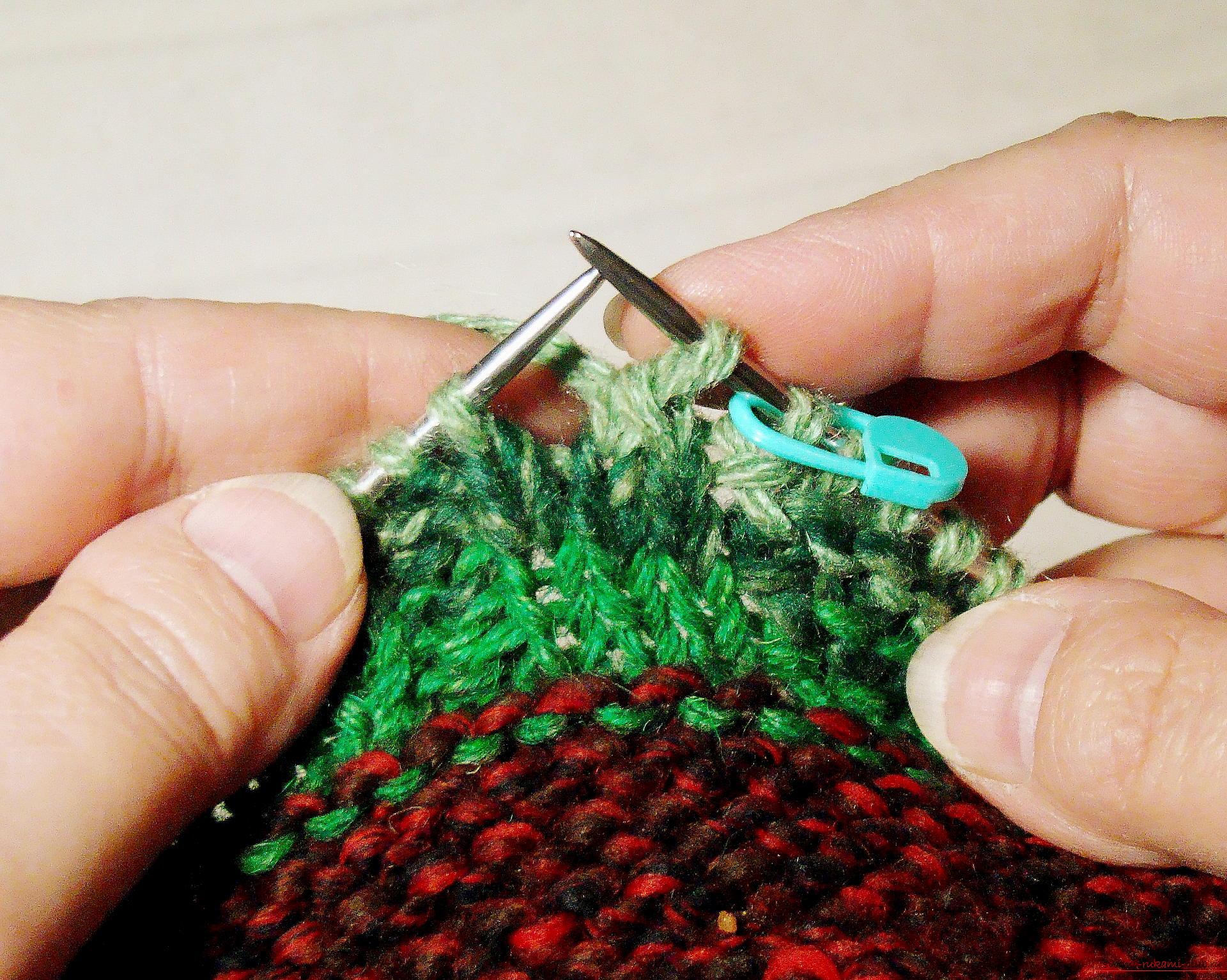 Видеоурок по вязание следков