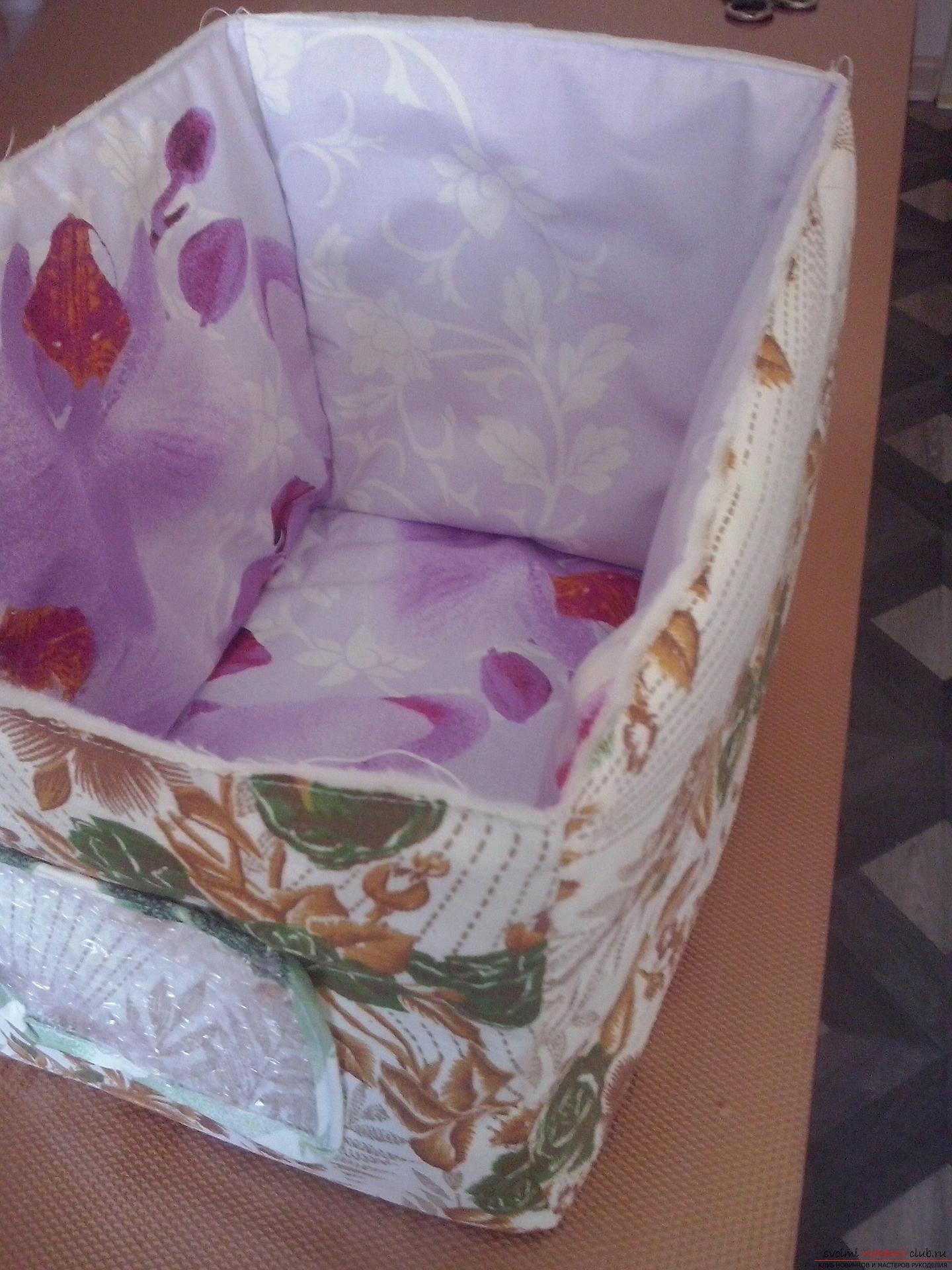 Коробка текстильная своими руками фото 636