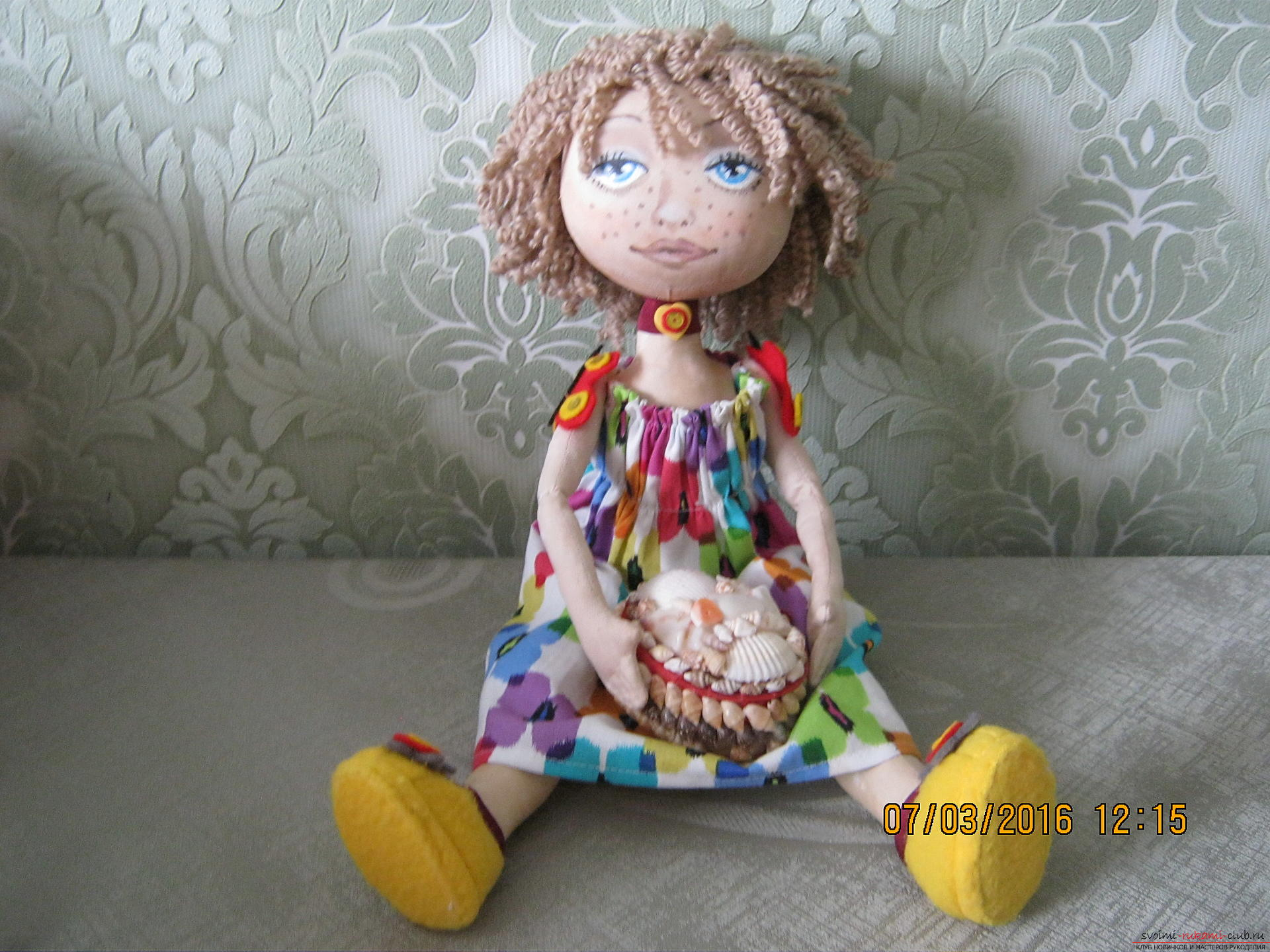 Мастер класс садовые куклы своими руками