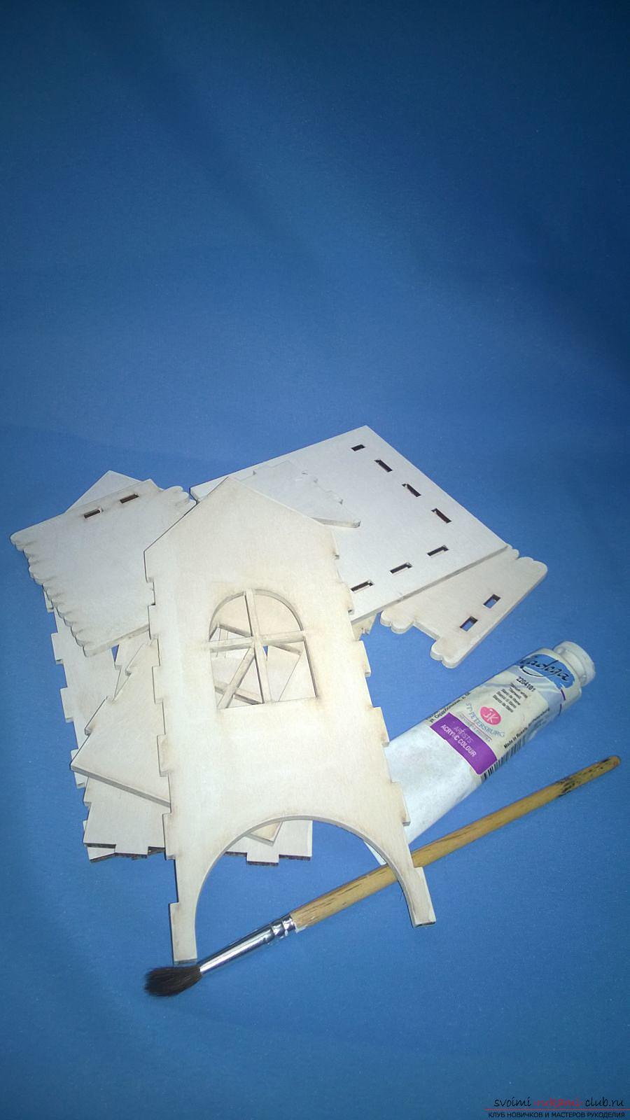 Мастер-класс научит как декорировать оригинальный чайный домик, используя декупаж. Фото №4