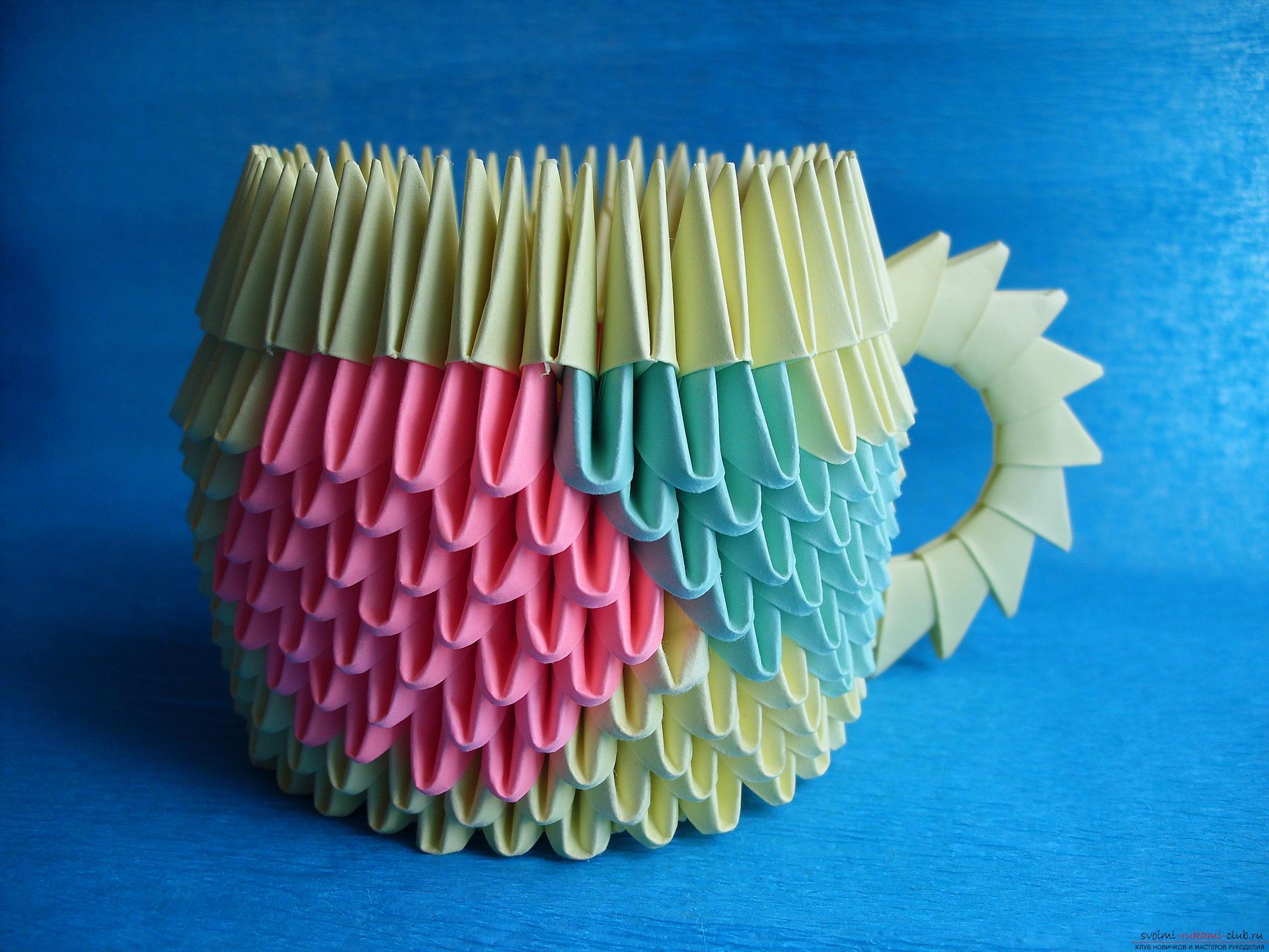 Как сделать поделки в модульном оригами