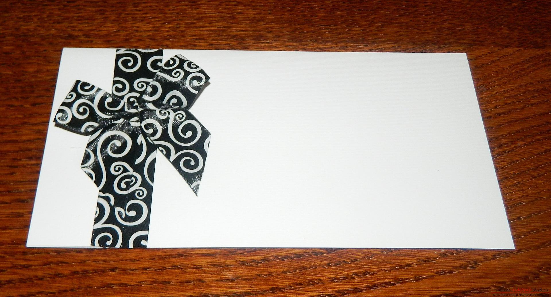 Этот мастер-класс покажет как сделать красивые открытки своими руками.. Фото №3