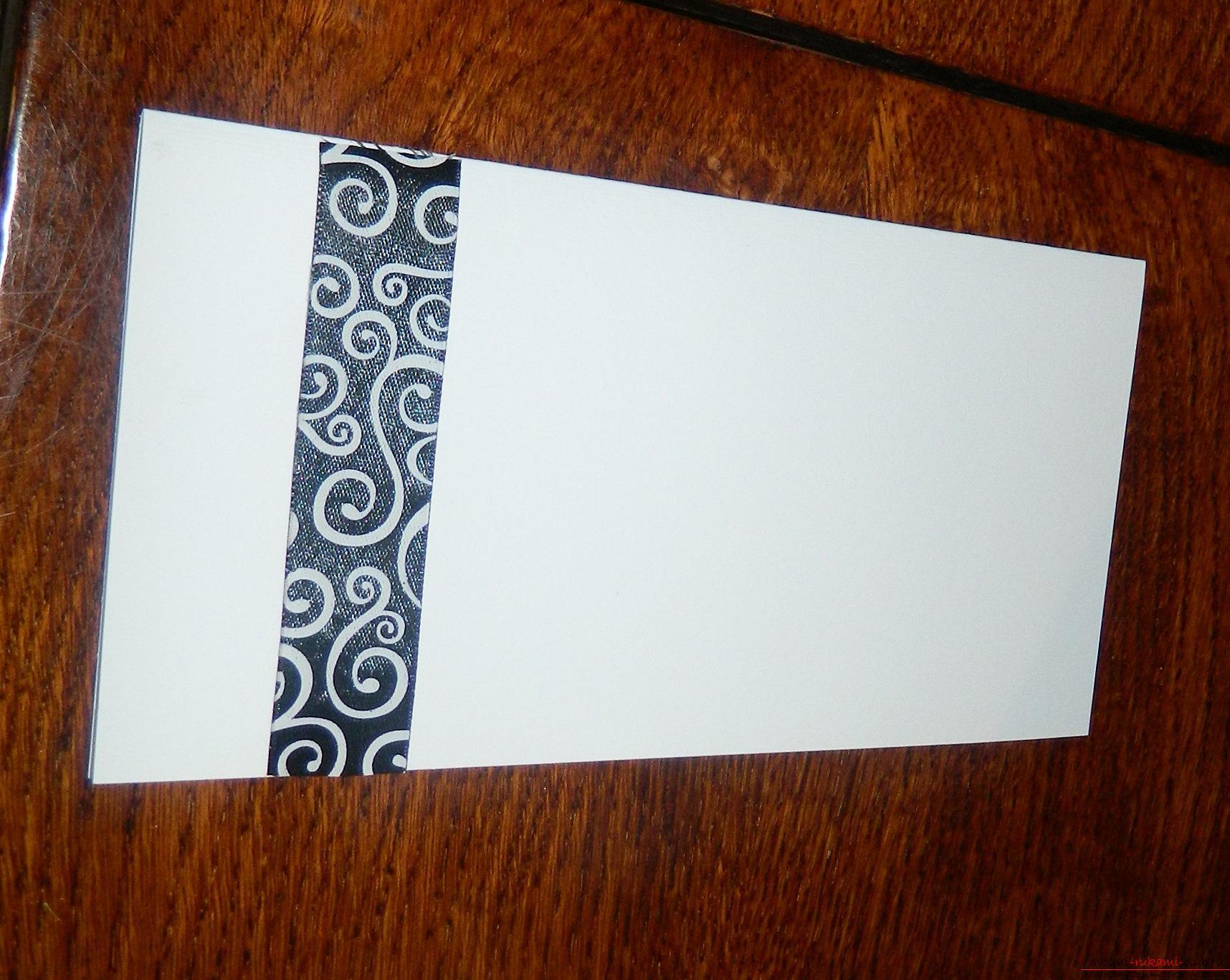 Этот мастер-класс покажет как сделать красивые открытки своими руками.. Фото №2