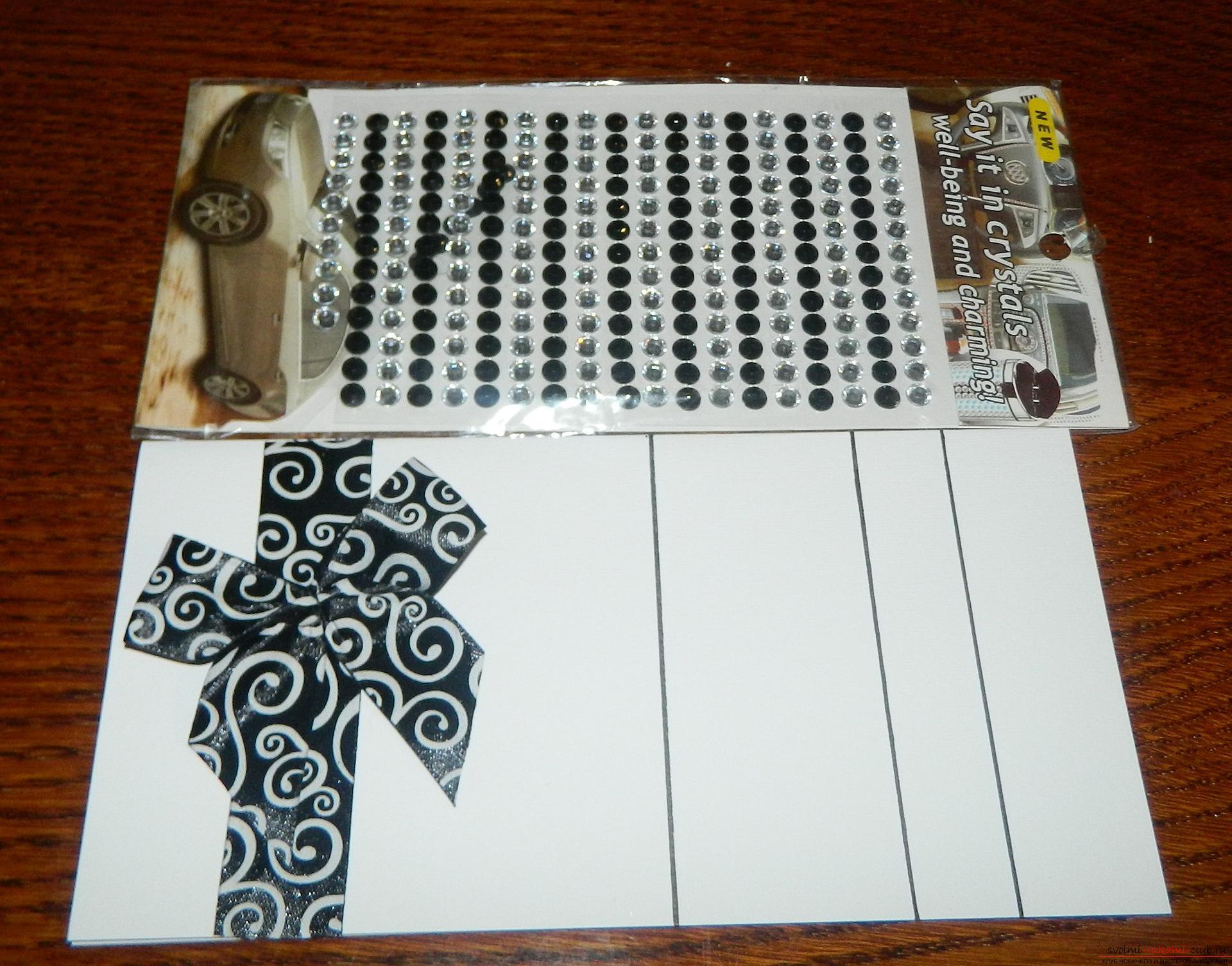 Этот мастер-класс покажет как сделать красивые открытки своими руками.. Фото №6