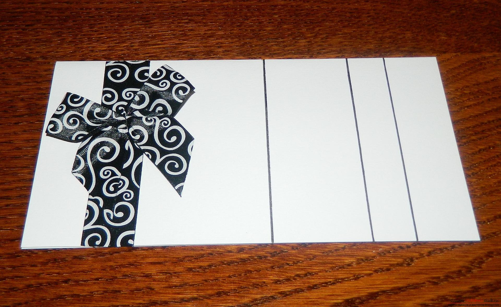 Этот мастер-класс покажет как сделать красивые открытки своими руками.. Фото №5