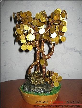 Поделки денежного дерева своими руками