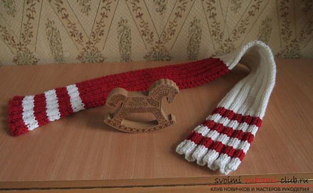 Начинаем вязание с на бора