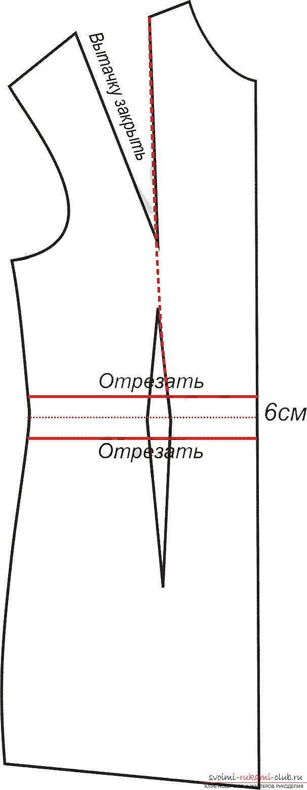 Образцы платьев в пол, выкройки. Фото №4