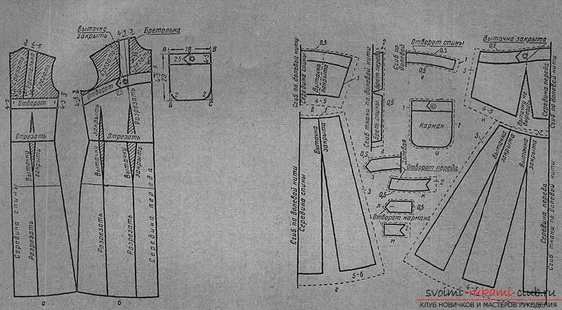 Образцы платьев в пол, выкройки. Фото №5