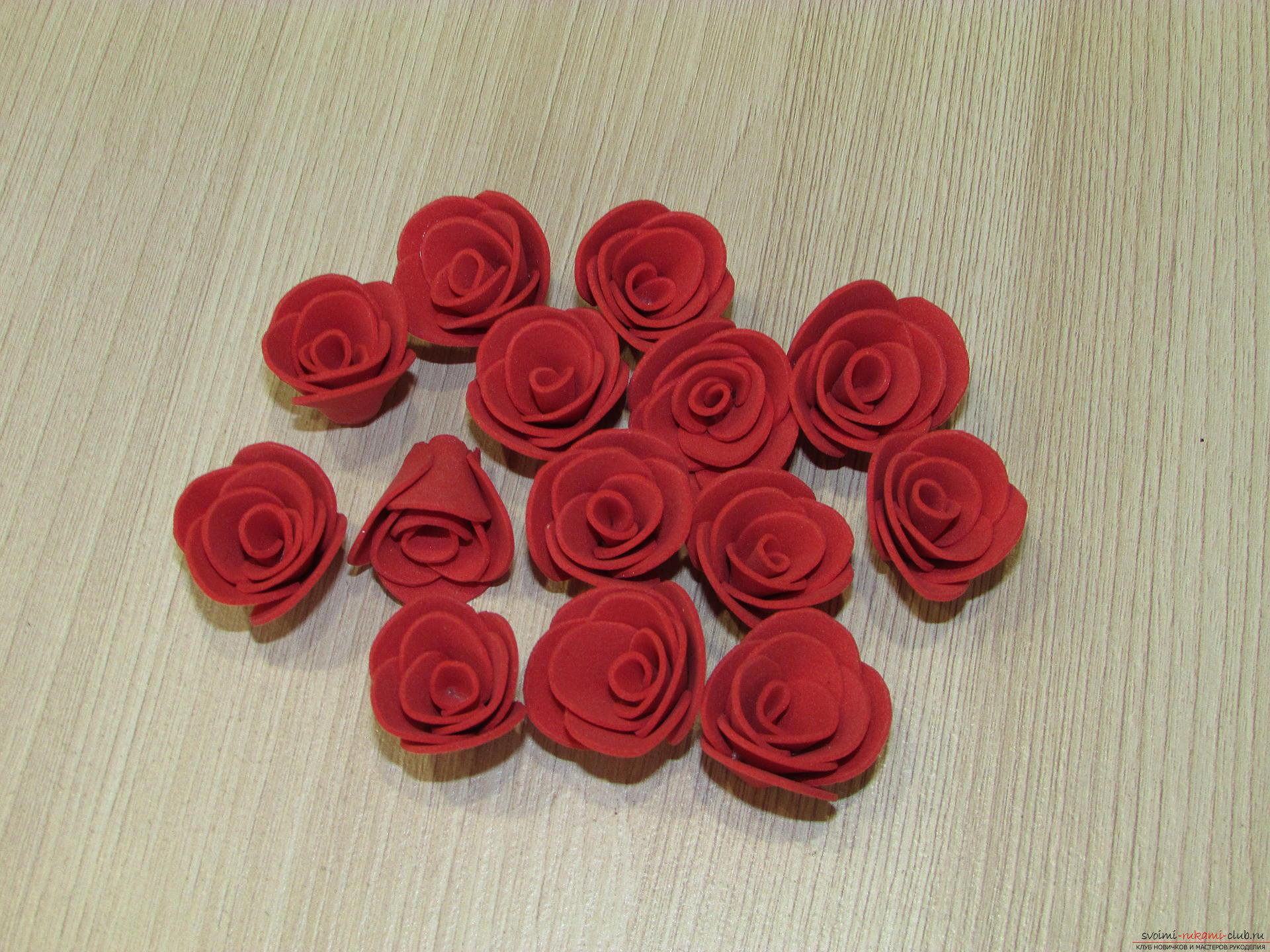 Как сделать капельку на розе