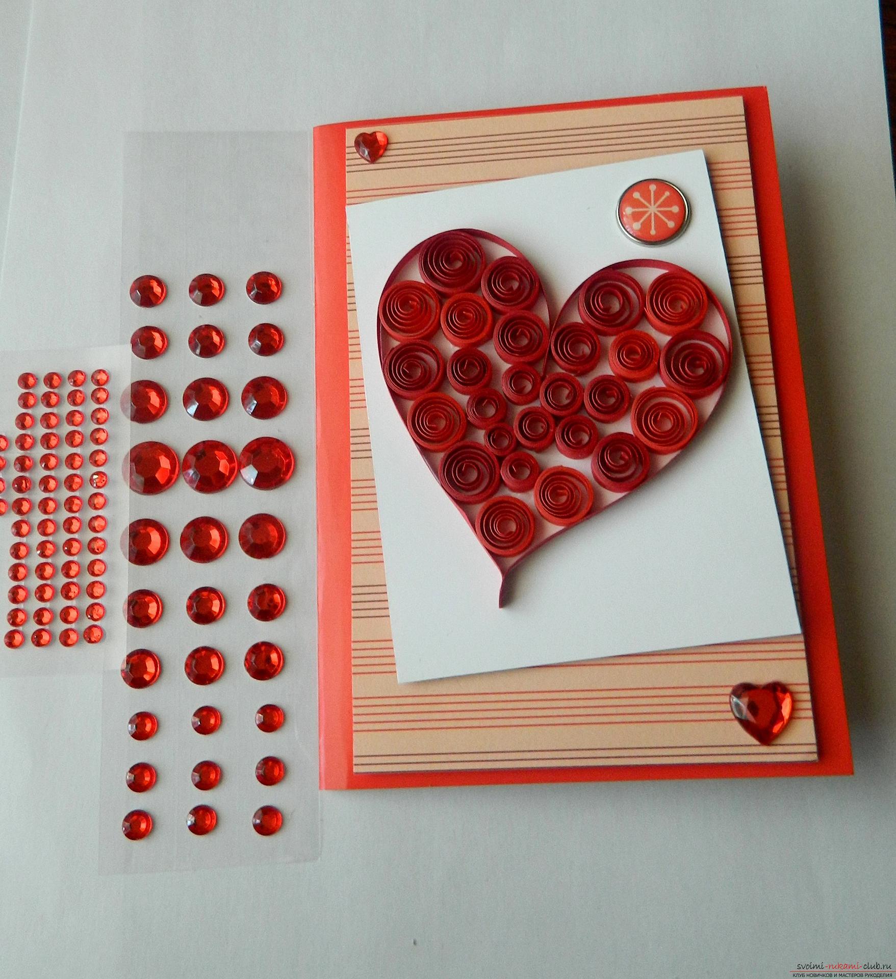 Валентинки своими руками Как сделать валентинку 100