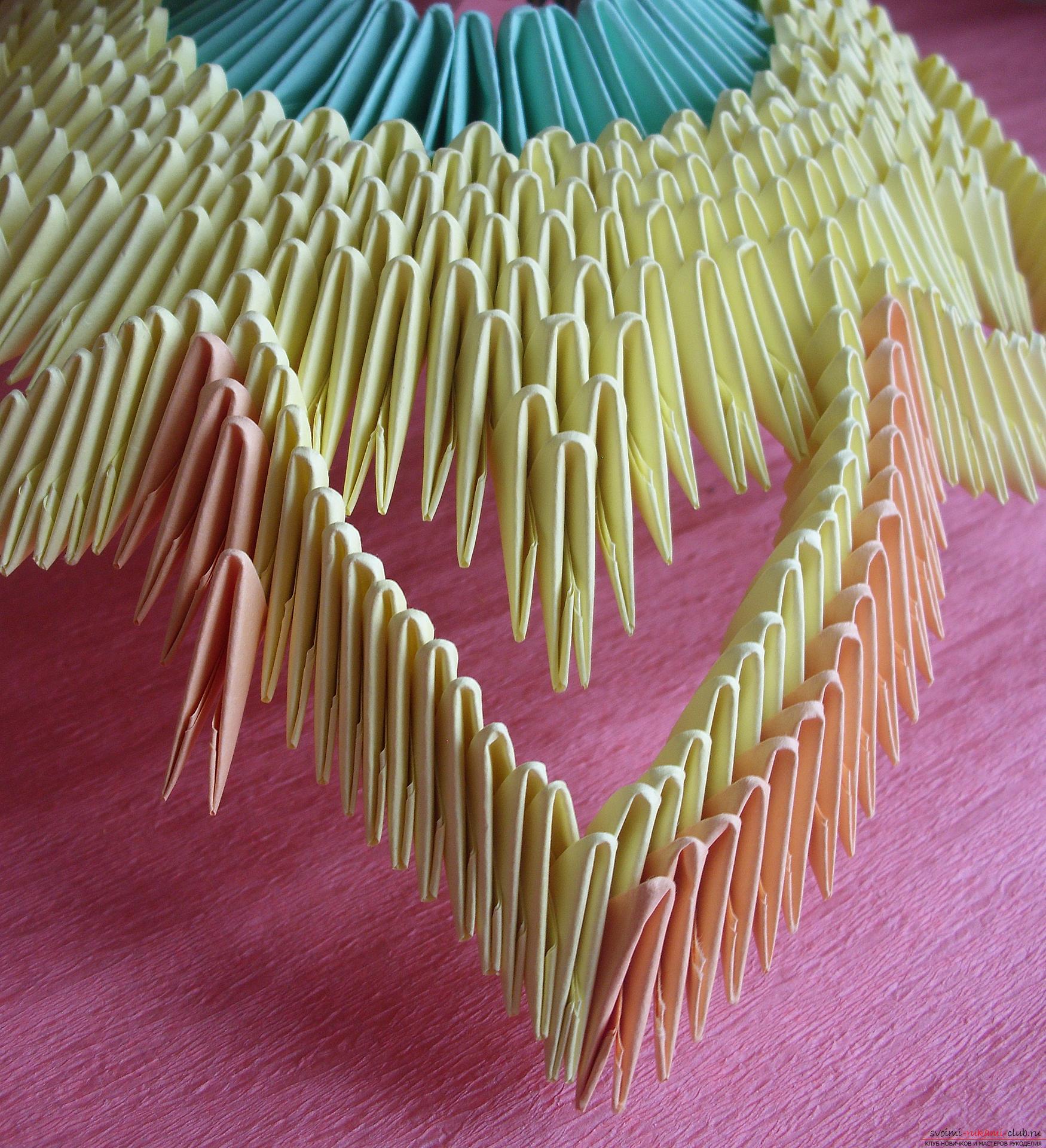 Вазочка из бумаги техникой модульное оригами. Как сделать 12