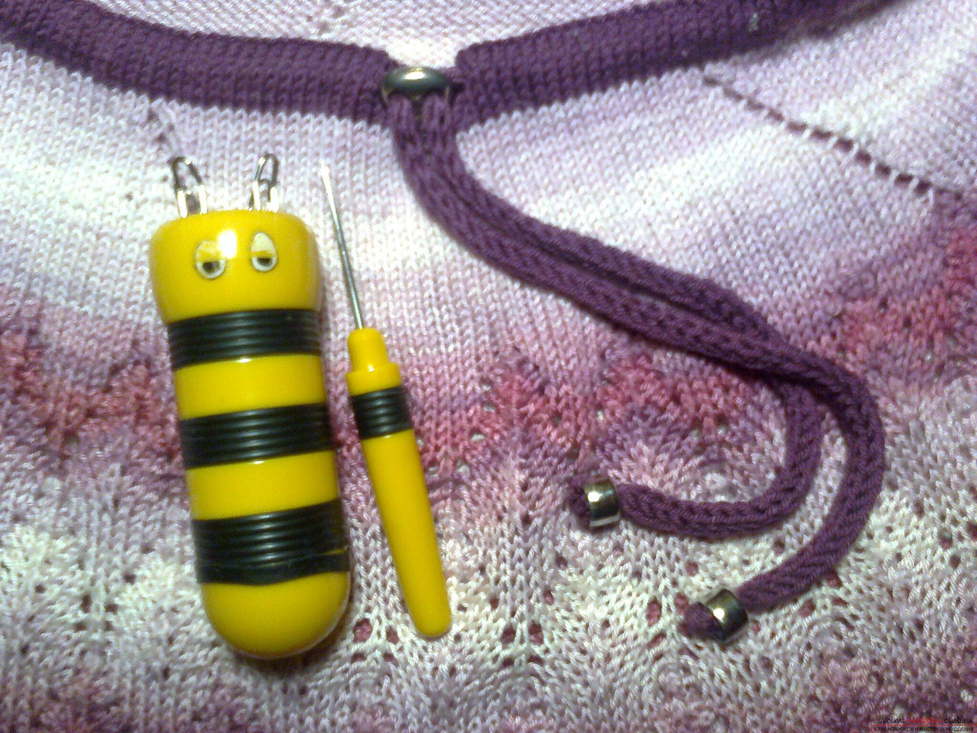 Куколка для вязания шнуров своими руками