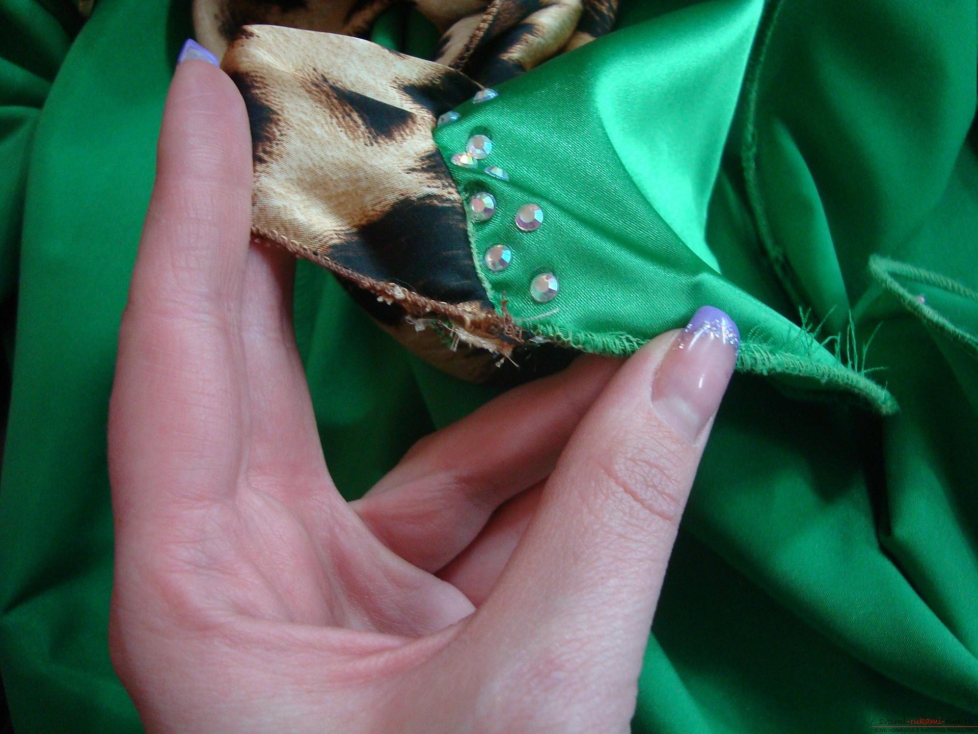 Красивое платье можно пошить в домашних условиях, используя выкройку и схему.. Фото №8