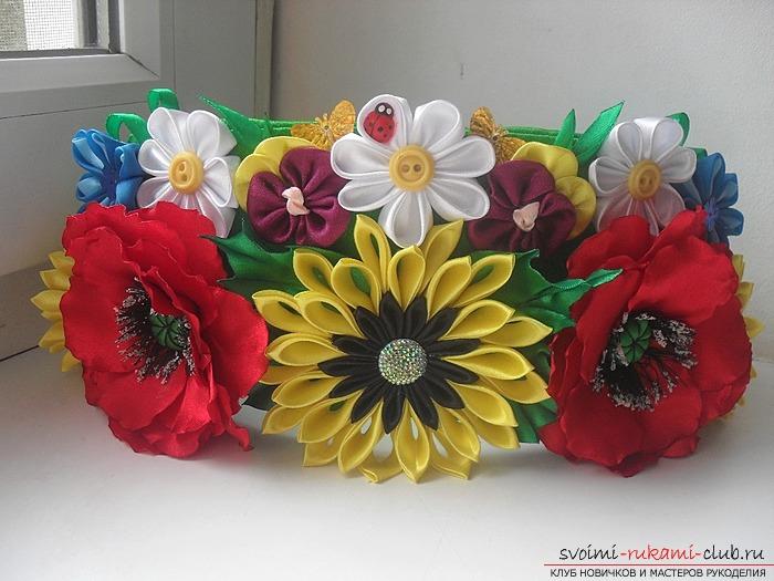 Украинские венки своими руками