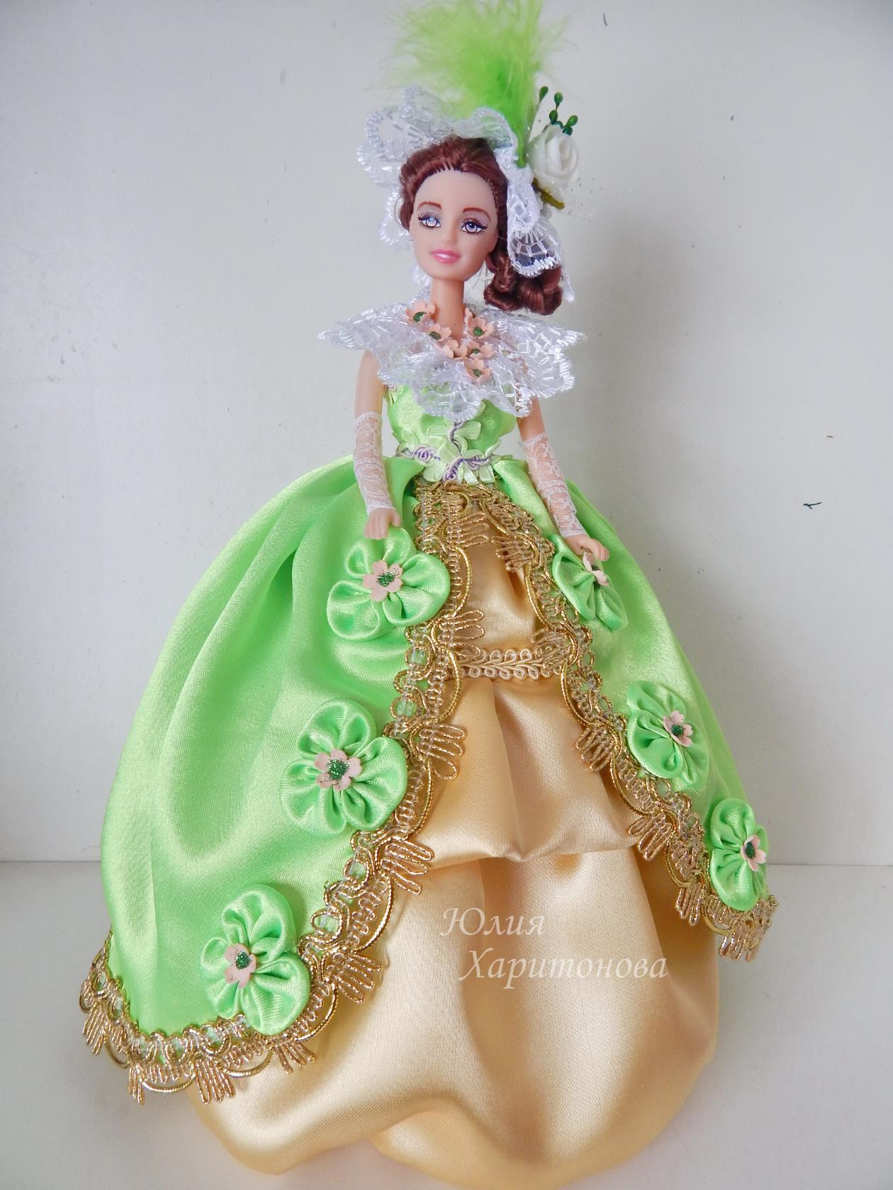 Кукла из пластиковой бутылки, шкатулка 8