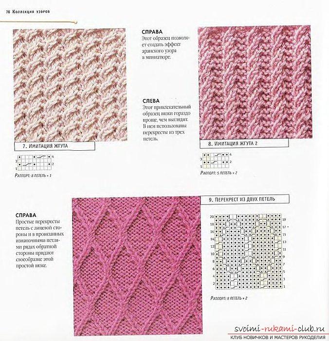 вязаный спицами шарф для женщин. Фото №4