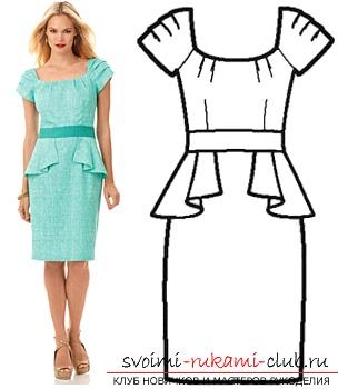 Платье из бурды своими руками