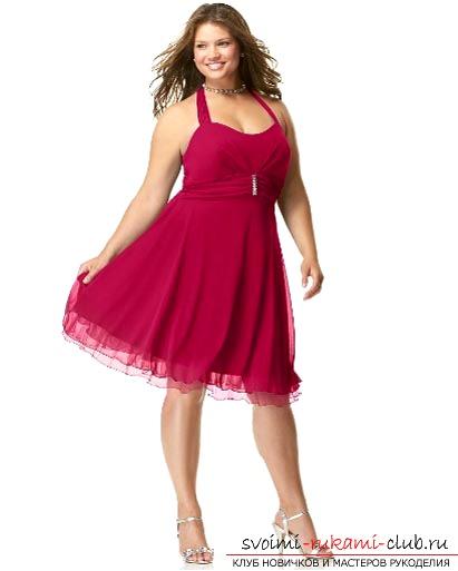 Как сделать выкройку платьев для полных женщин?. Фото №1