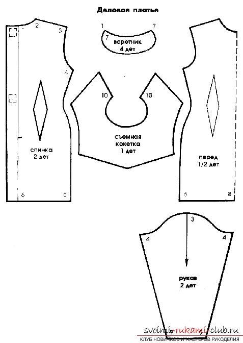 Одежки для кукол выкройки